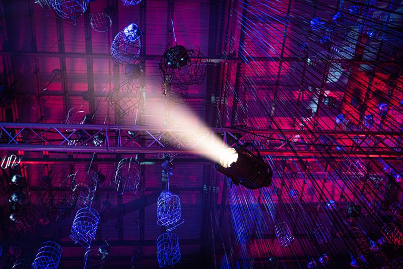 Lichttechnik in der Eventhalle