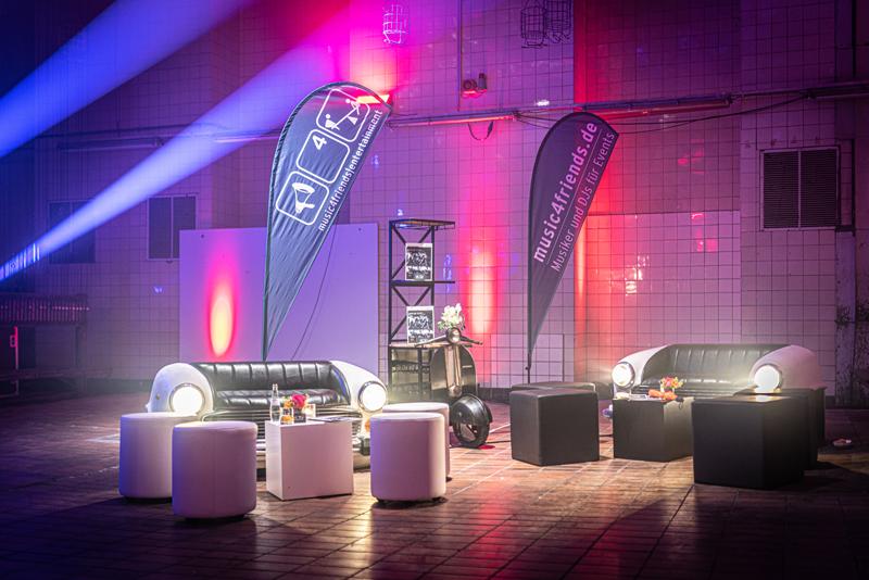 Möbel Eventdesign Zeche Ewald